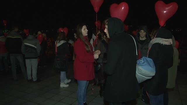 Sto balonów na inaugurację obchodów stulecia Liceum im. Marii Konopnickiej