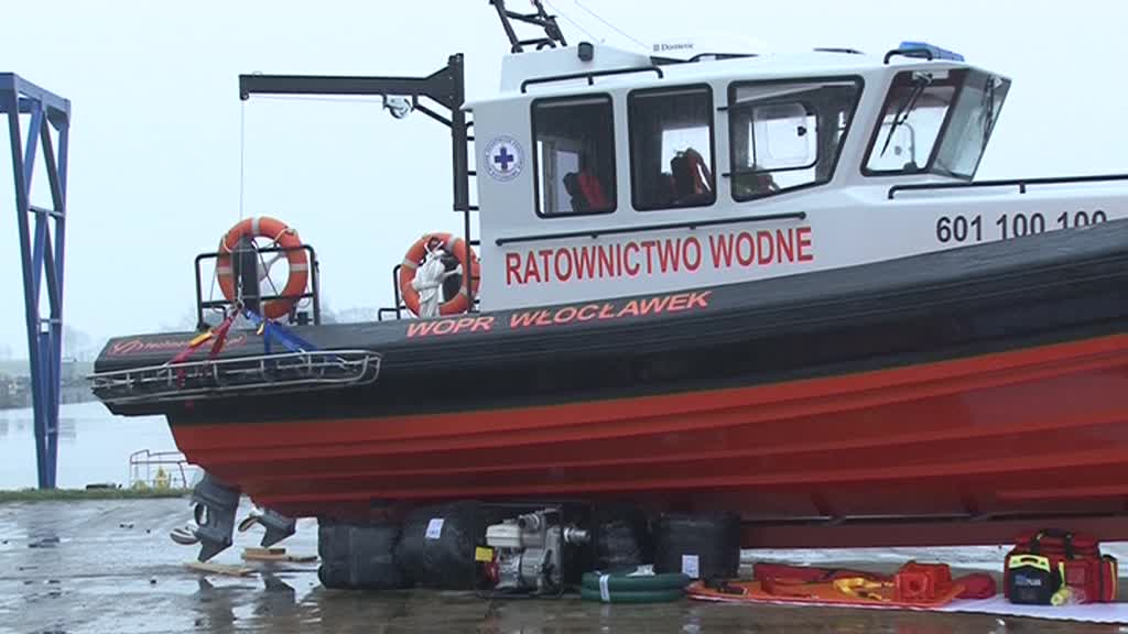 Włocławski WOPR ma nową łódź. Kosztowała 600 tysięcy!