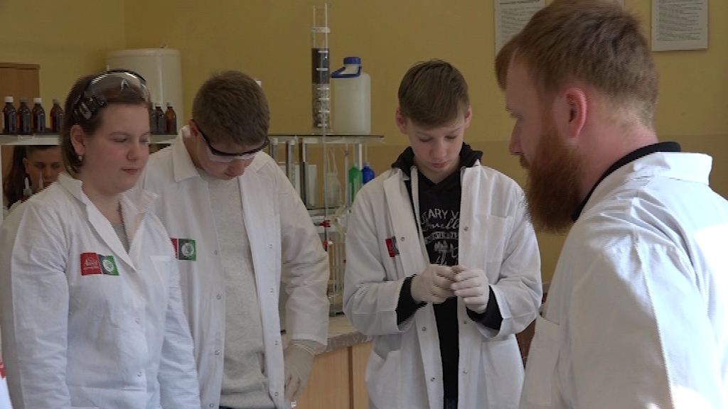 """Wykładowcy z Politechniki Łódzkiej przyjechali do """"Chemika"""""""
