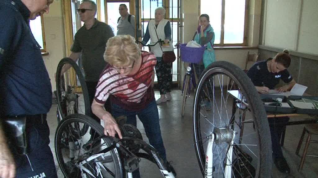 Akcja znakowania rowerów znów w naszym mieście!