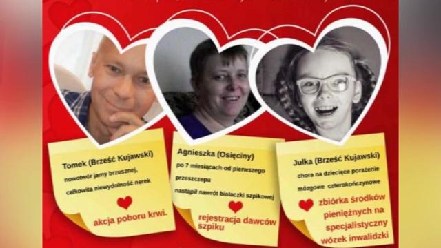 W Brześciu Kujawskim dołącz do ludzi o szlachetnych sercach! To przecież bardzo proste