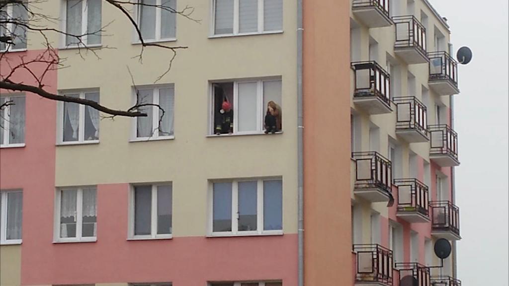 Próba samobójcza na ul. Dziewińskiej