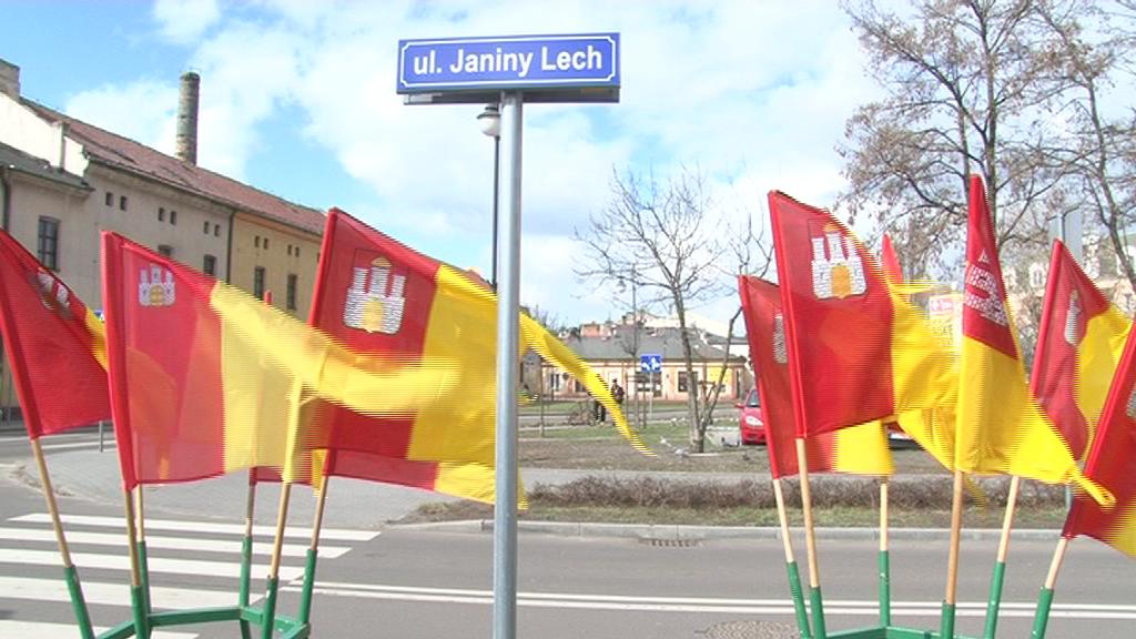 Ulica Janiny Lech już oficjalnie nadana!