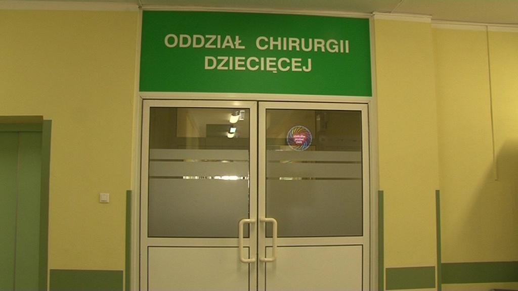 Ważą się losy oddziału chirurgii dziecięcej włocławskiego szpitala!