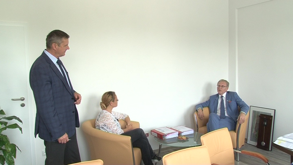 Najpierw konferencja prasowa przed Szpitalem… później wizyta u dyrektora – Tomasz Latos we Włocławku!