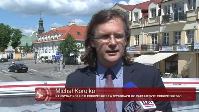 Z piętrowego autobusu do Parlamentu Europejskiego. O jakie tematy chce zadbać w Brukseli Michał Korolko?