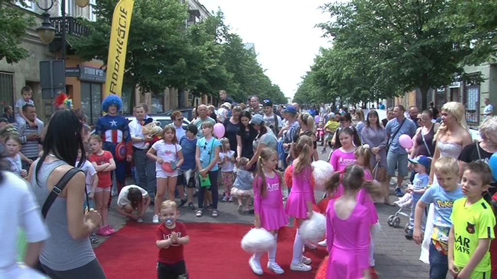 Baśniowy Dzień Dziecka w centrum miasta