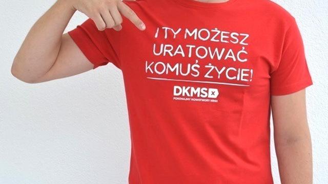 Dołącz do bazy DKMS. Najbliższa okazja już w sobotę!