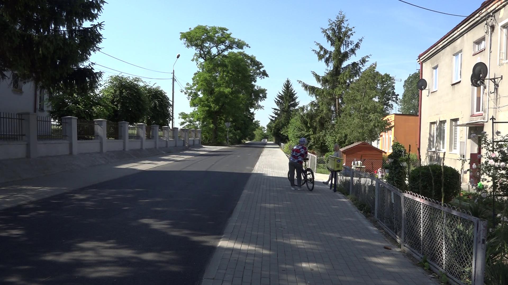 Gmina Boniewo. Kolejna droga już z asfaltem!