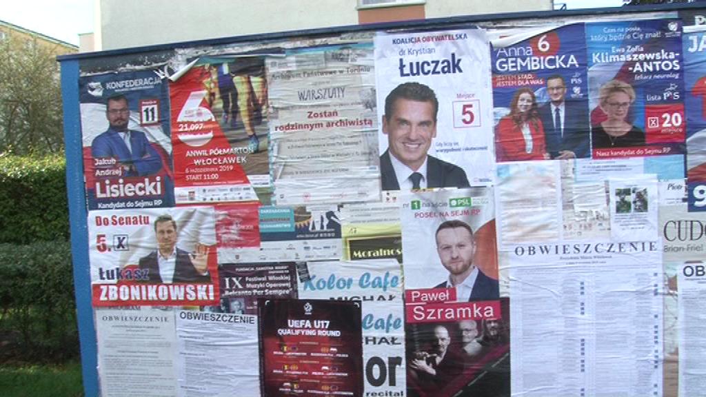 Incydenty podczas ciszy wyborczej również we Włocławku