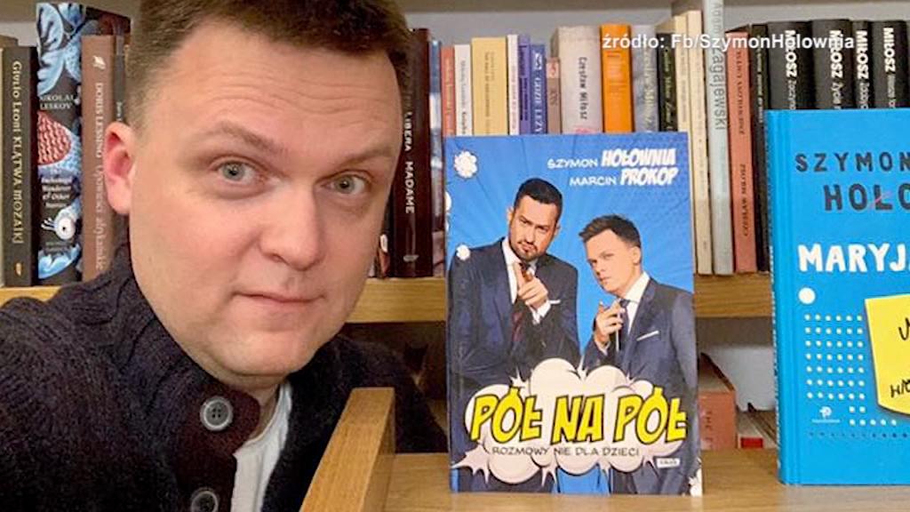 Szymon Hołownia odwiedzi bibliotekę