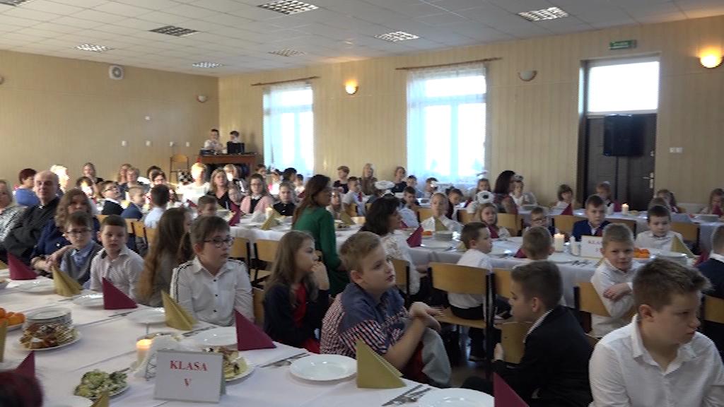 Wspólna Wigilia w Zespole Szkół w Grabkowie