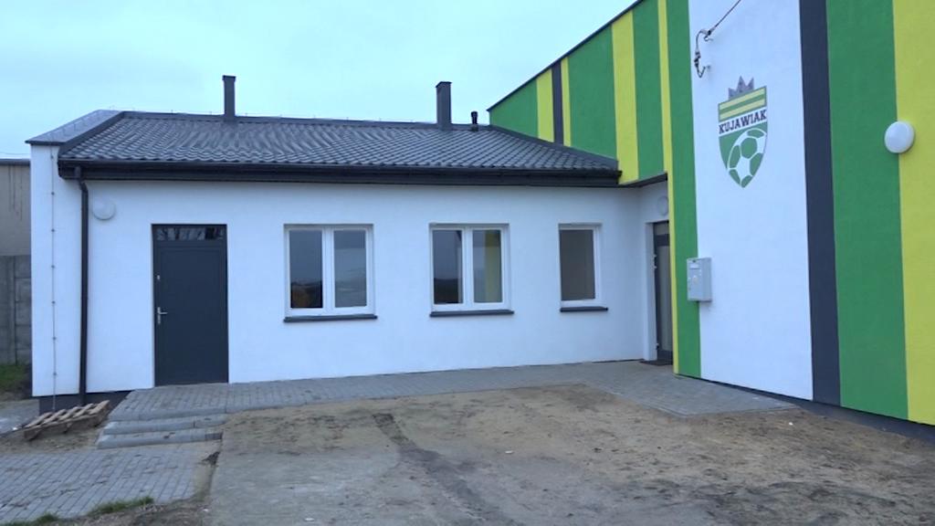 Budynek klubowy Kujawiaka Kruszyn zmodernizowany