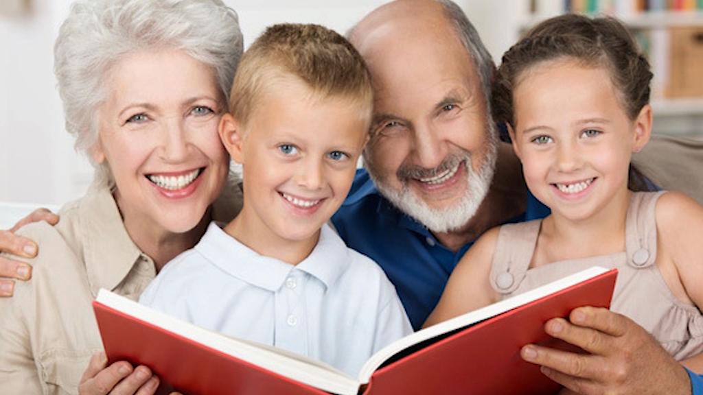 Dziadkowie. Kochamy ich z całego serca