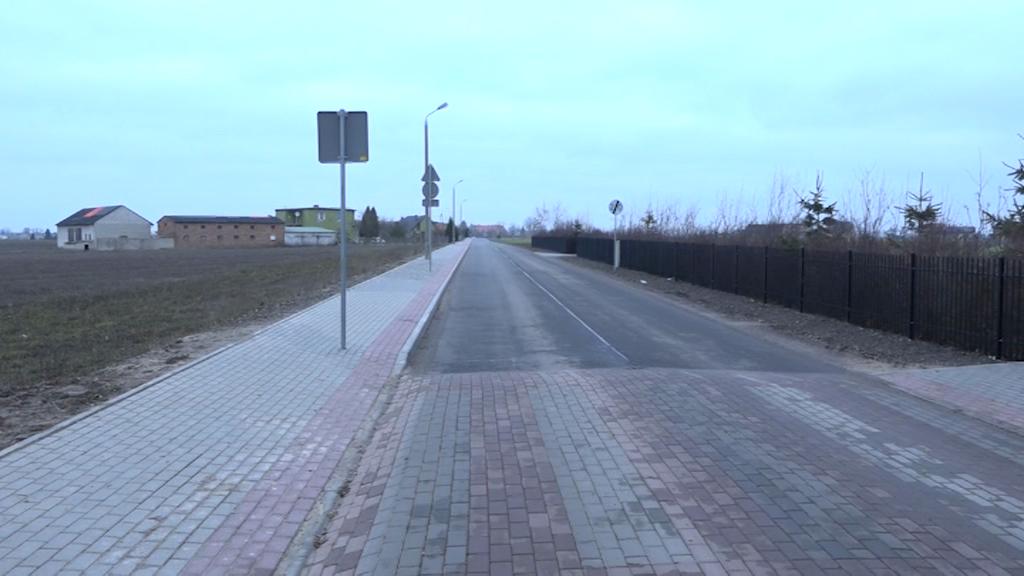 Droga Kruszynek-Świętosław przebudowana