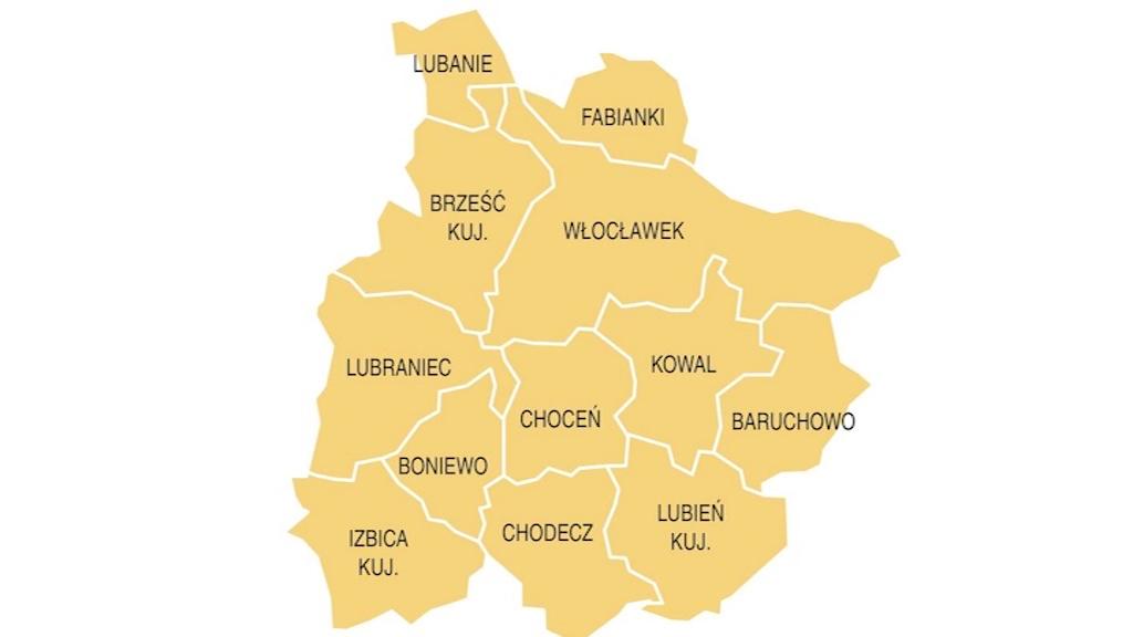 Koronawirus w podwłocławskich gminach