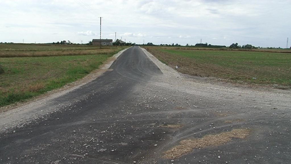 Nowa droga od Lubienia do Lubomina
