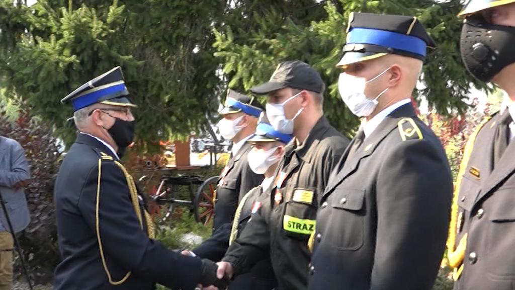 Promesy i odznaczenia dla strażaków ochotników