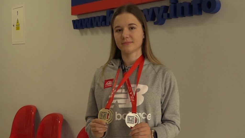 Sięgnęła po srebrny medal i jedzie na Mistrzostwa Europy!