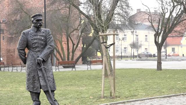 Pomnik Piłsudskiego ma stanąć przy ulicy Maślanej