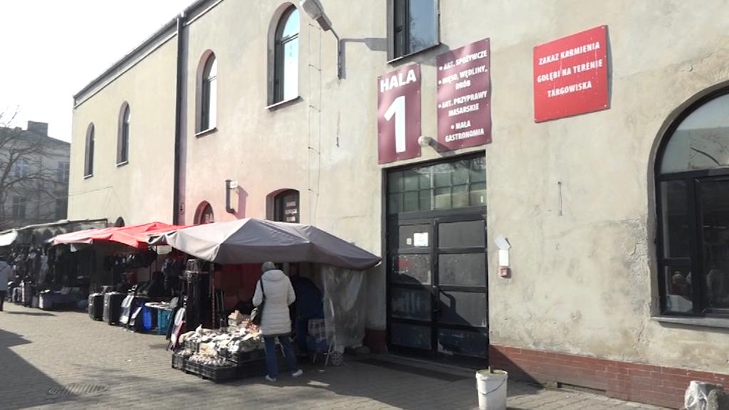 Targowisko przy ul. Związków Zawodowych czeka remont!